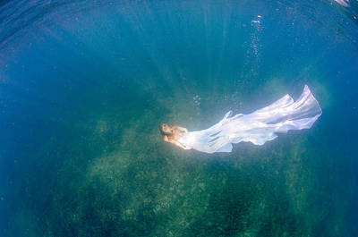 Underwater Bride Poster