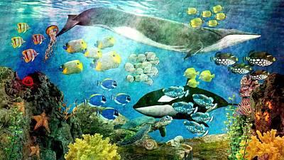 Underwater Magic Poster