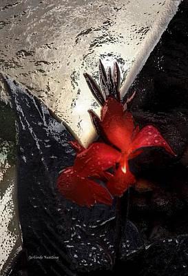 Une Belle Fleur Poster by Gerlinde Keating - Galleria GK Keating Associates Inc