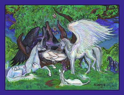 Unicorn Healing Poster