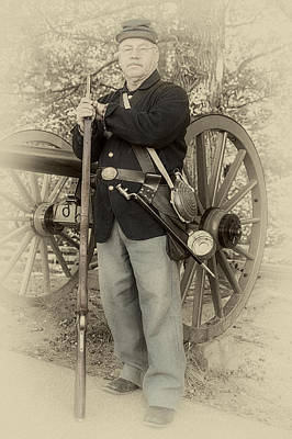 Union Soldier July 1863 Poster