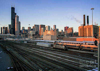 Union Station Chicago By Kevin Oconnell - Kogalleries.com Poster by Kevin Oconnell