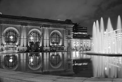 Union Station Reflections Poster by Steven Bateson