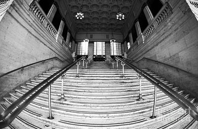Union Station Steps Poster by John Rizzuto
