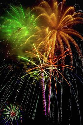 Unique Fireworks Poster