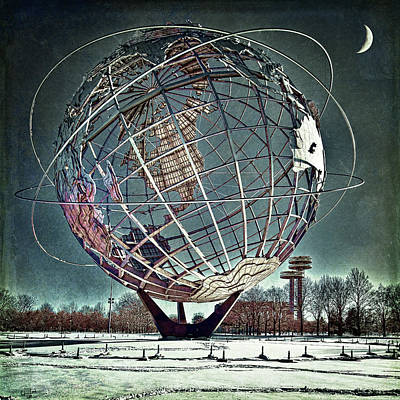 Unisphere Poster by Chris Lord