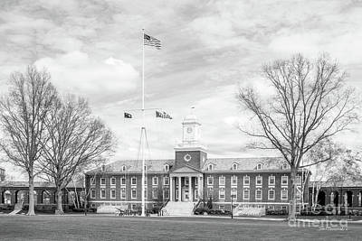 United States Coast Guard Academy Hamilton Hall Poster by University Icons