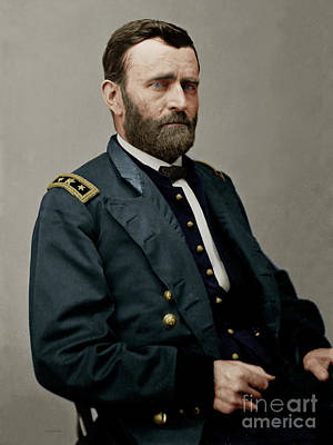 United States Of America President General Ulysses S Grant 20170521 Poster by Wingsdomain Art and Photography