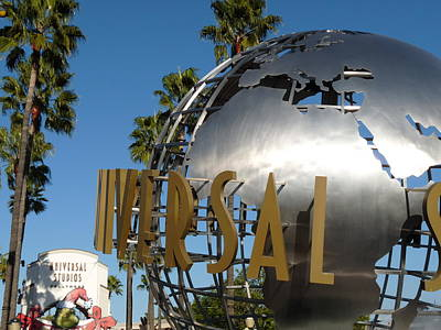Universal Studios Globe Poster