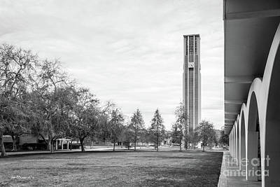University Of California Riverside Bell Tower Poster by University Icons