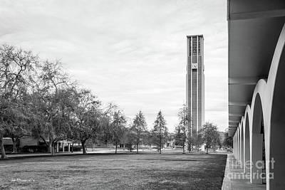 University Of California Riverside Bell Tower Poster