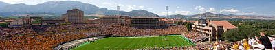 University Of Colorado Boulder Folsom Field Game Panorama Poster