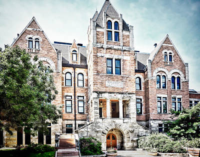 University Of Colorado  Hale Building - Photography Poster