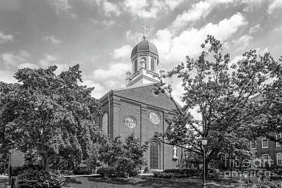 University Of Dayton Chapel Poster