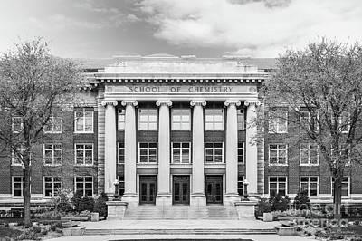 University Of Minnesota Smith Hall Poster