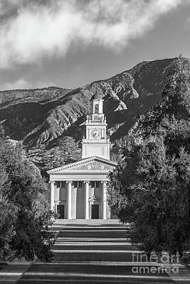 University Of Redlands Memorial Chapel Poster by University Icons
