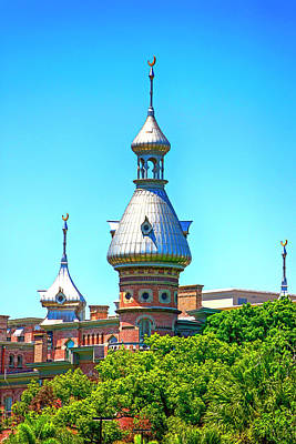 University Of Tampa Minaret Fl Poster