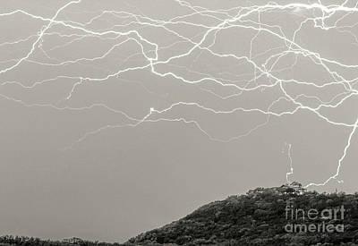 Unreal Lightning Poster