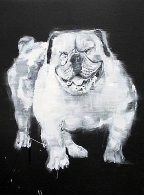 Unstumbling Force #bulldog Poster by Fabrizio Cassetta