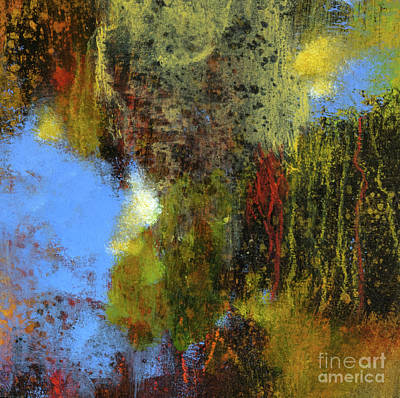 Untitled Abstract 1 Poster by Melody Cleary