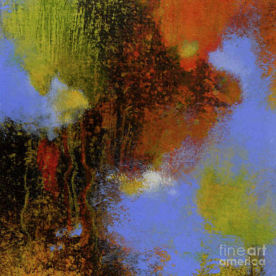 Untitled Abstract 2 Poster by Melody Cleary