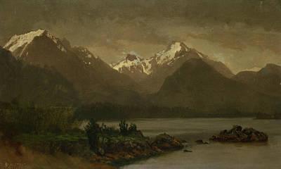 Untitled Poster by Albert Bierstadt