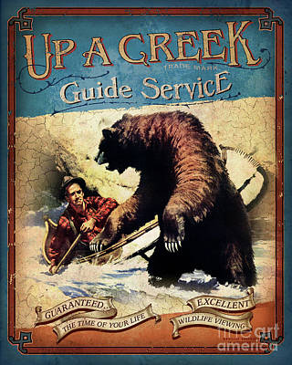Up A Creek 2 Poster by JQ Licensing