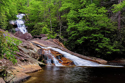 Upper Creek Falls Poster by Jeremy Clinard