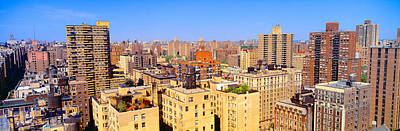 Upper West Side, Manhattan, New York+b3 Poster by Panoramic Images