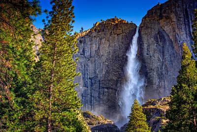 Upper Yosemite Falls Poster by Rick Berk