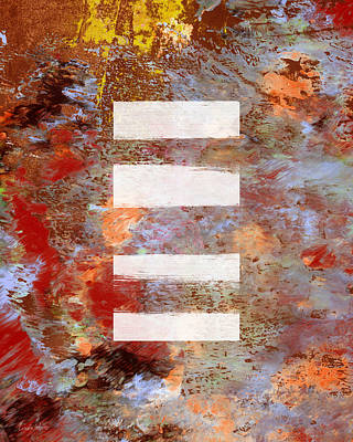 Urban Abstract- Art By Linda Woods Poster