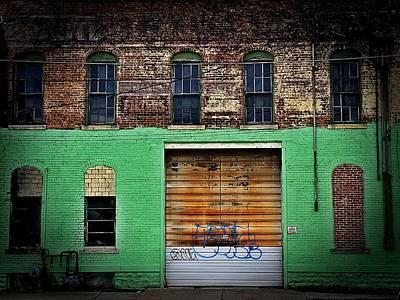Urban Decay Dayton, Ohio City Of Apathy  Poster by Michael L Kimble