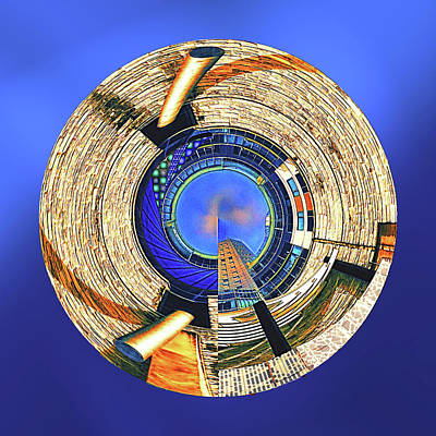 Poster featuring the digital art Urban Order by Wendy J St Christopher