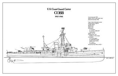 U.s. Coast Guard Cutter Cobb Poster by Jose Elias - Sofia Pereira
