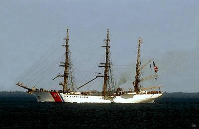 U.s. Coast Guard Eagle Poster