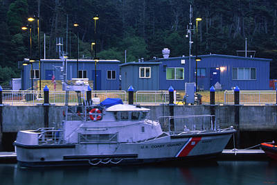 U.s. Coast Guard - Fort Bragg California Poster by Soli Deo Gloria Wilderness And Wildlife Photography