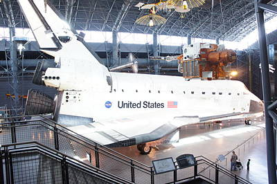 First Space Shuttle Enterprise Poster by Art Spectrum