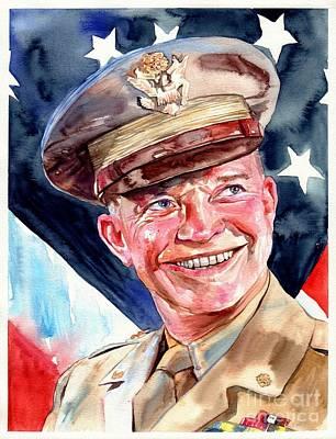 Us General Dwight D. Eisenhower Poster