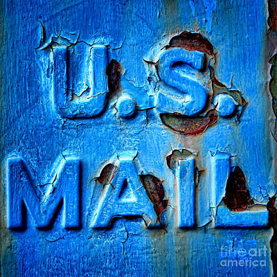 Us Mail Poster by Olivier Le Queinec