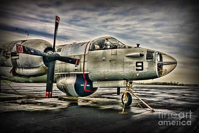 Us Navy Top Gun Aircraft Poster by Paul Ward