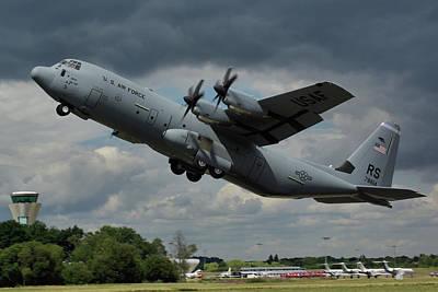 Usaf Lockheed-martin C-130j-30 Hercules  Poster by Tim Beach