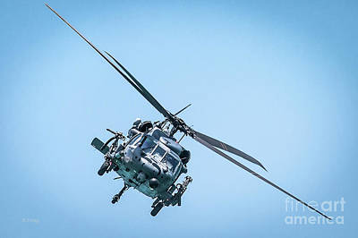 Usaf Pararescue Sar Black Hawk Poster by Rene Triay Photography