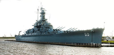 Uss Alabama Bb-60, Battleship, Wwii, World War Two Poster