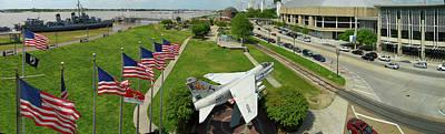 Uss Kidd Memorial Park, Baton Rouge Poster by Paul D Taylor