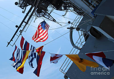 Uss Midway Flag Poster