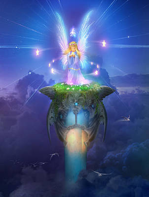 Utherworlds Stargazer Poster by Philip Straub