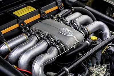 V8 Porsche Poster