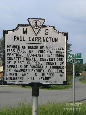 Va-m9 Paul Carrington Poster