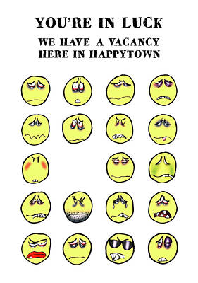 Vacancy In Happytown Poster