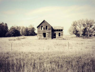 Vacant Home Poster by Julie Hamilton